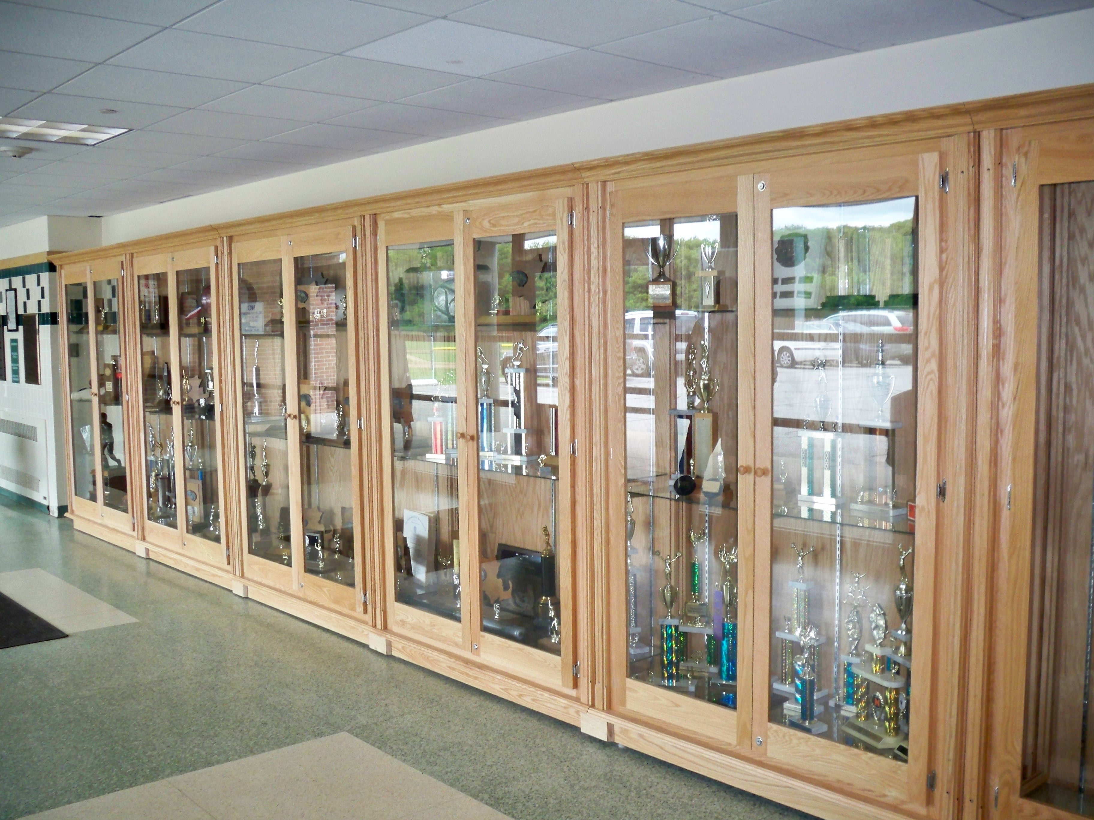 Trophy Case Display