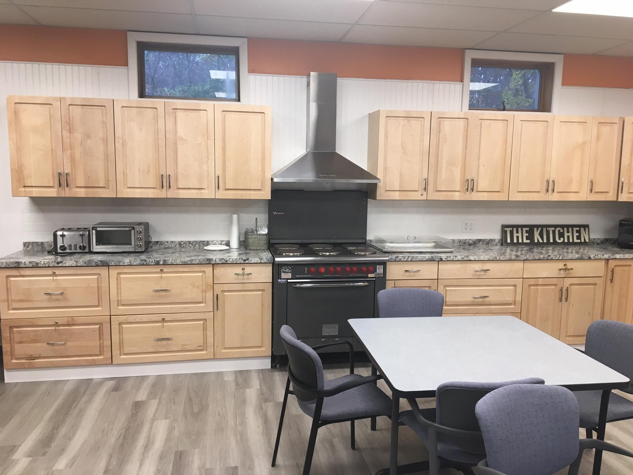 Wilmington Senior Center - Kitchen