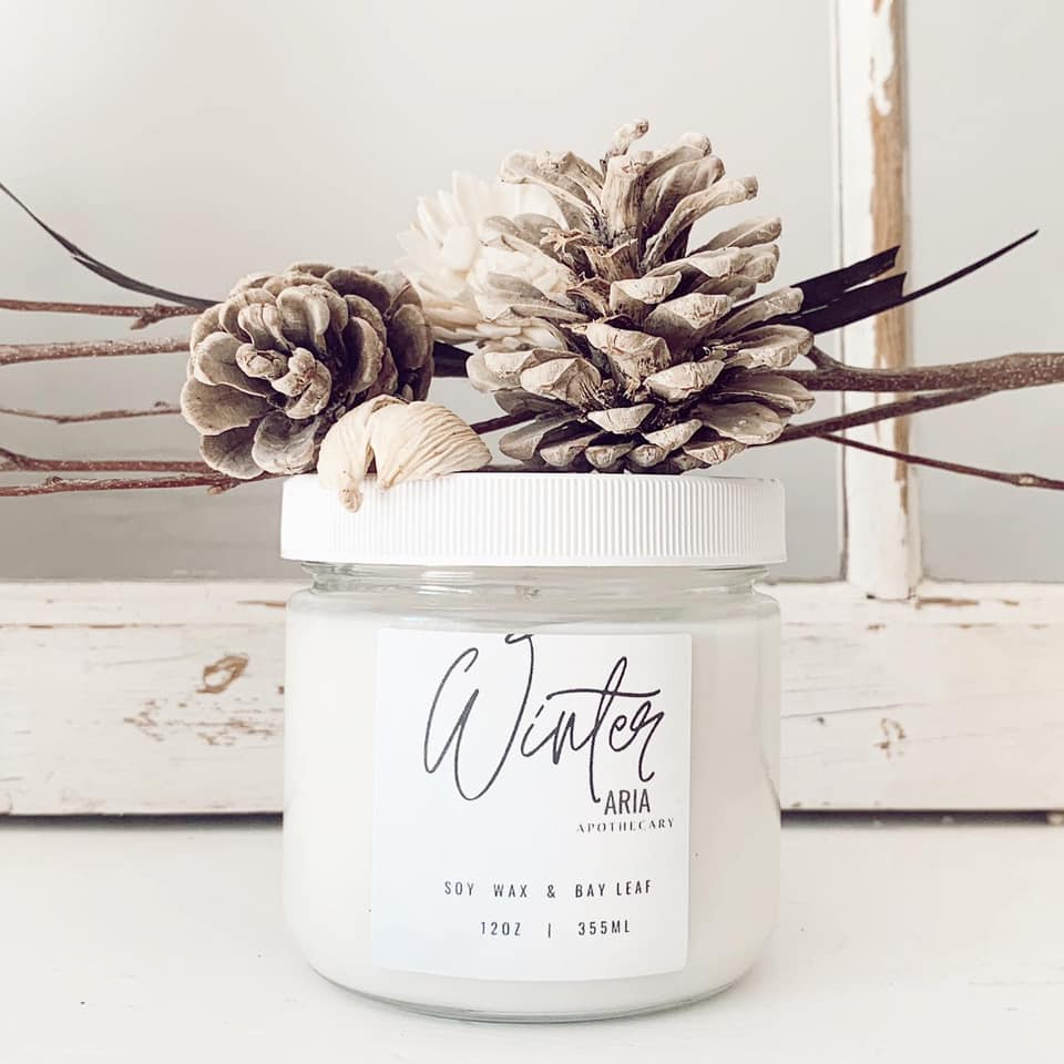 Winter Fir balsam, Asian spices, rich musk, mint and bay leaf oil.