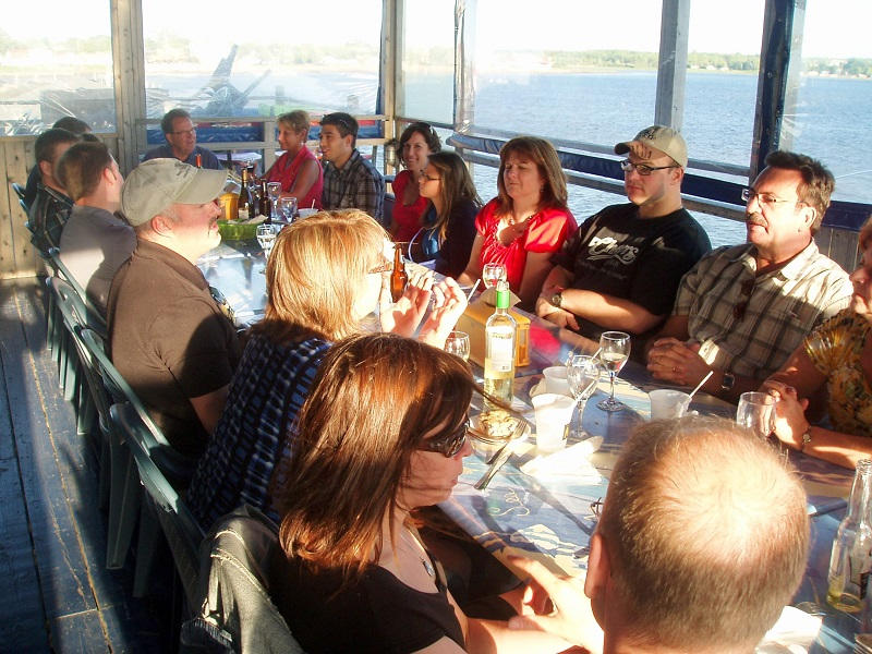 Lobster Kitchen Party A Beautiful Evening in Pointe du Chene