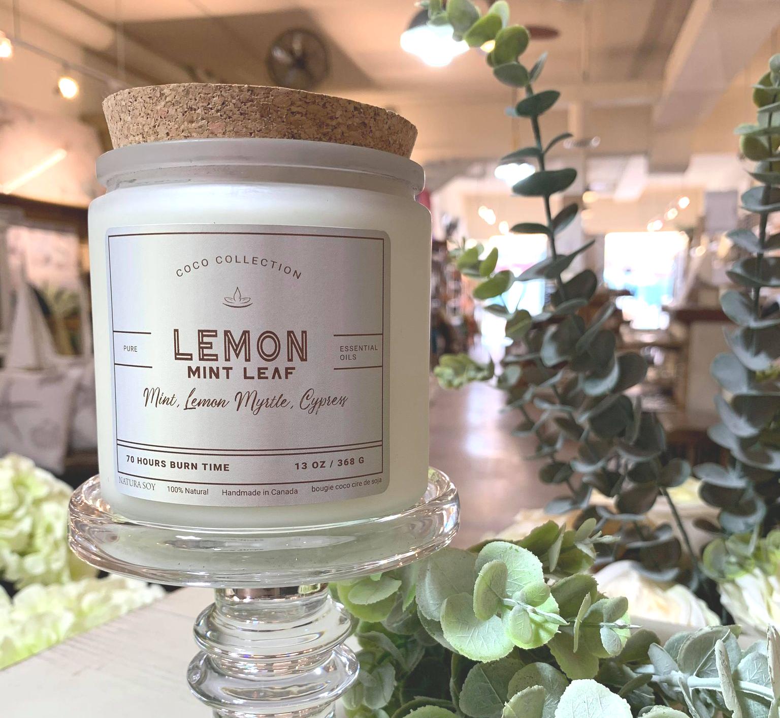 Lemon Mint Leaf Mint, Lemon Myrtle & Cypress
