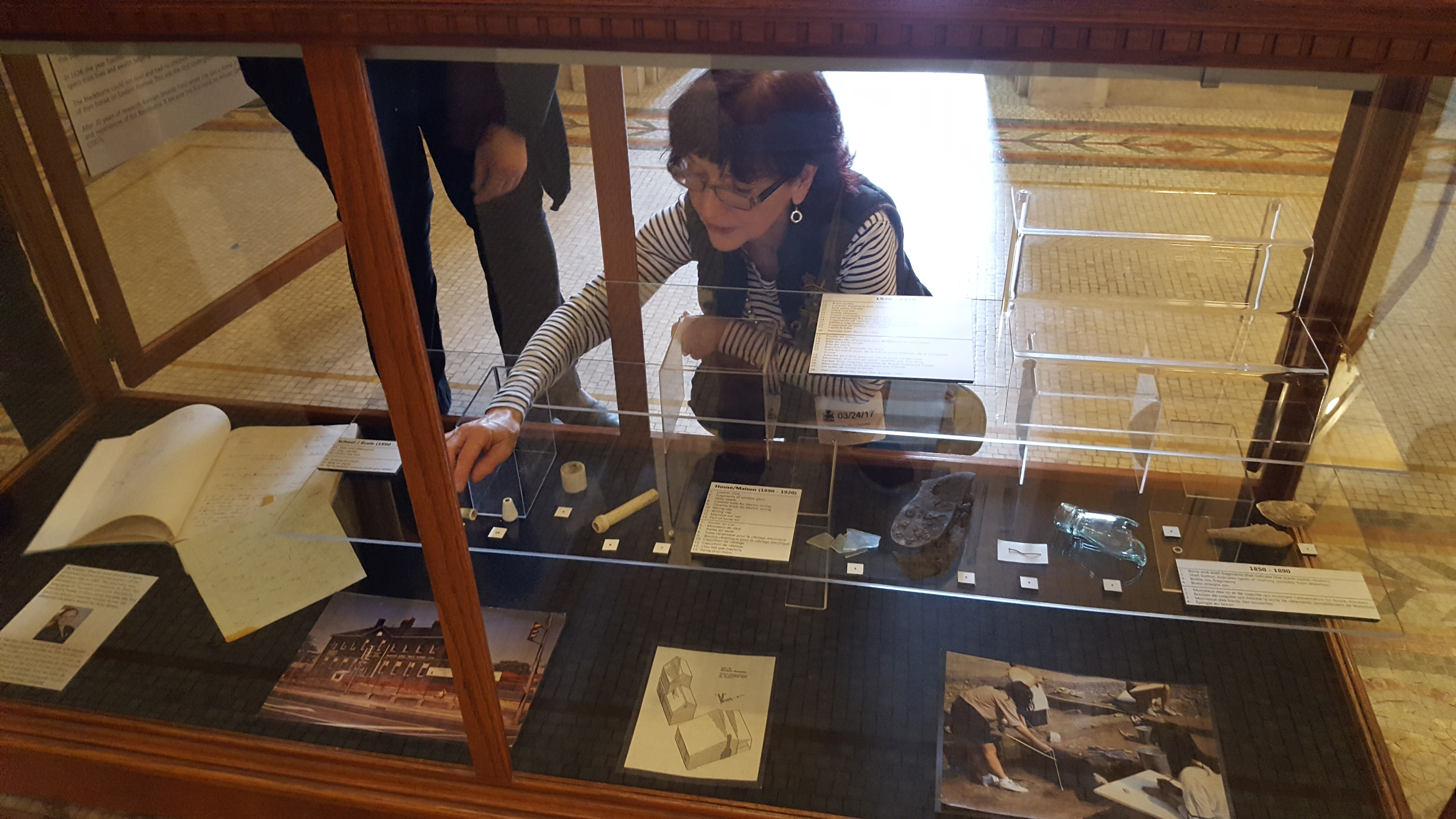 NEW: Lucie and Thornton Artifacts on display at  Queen's Park until July 2017
