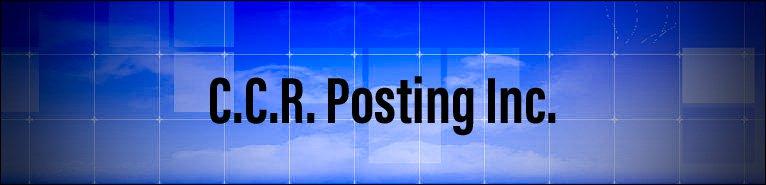 C.C.R. Posting Inc.