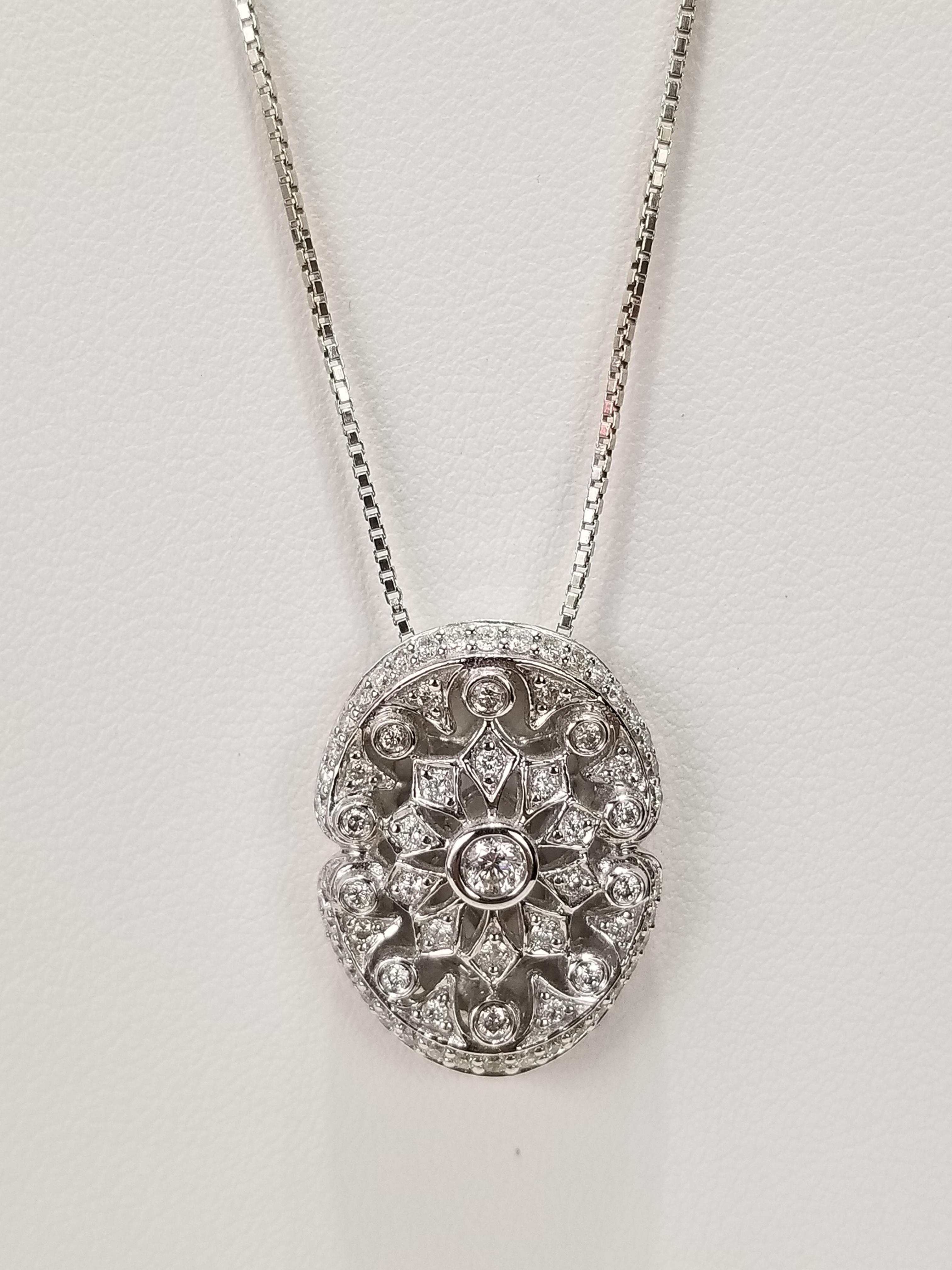 14K White Gold Diamonds 0.69ct Regular Price $3625 SALE $995 Ref HM615