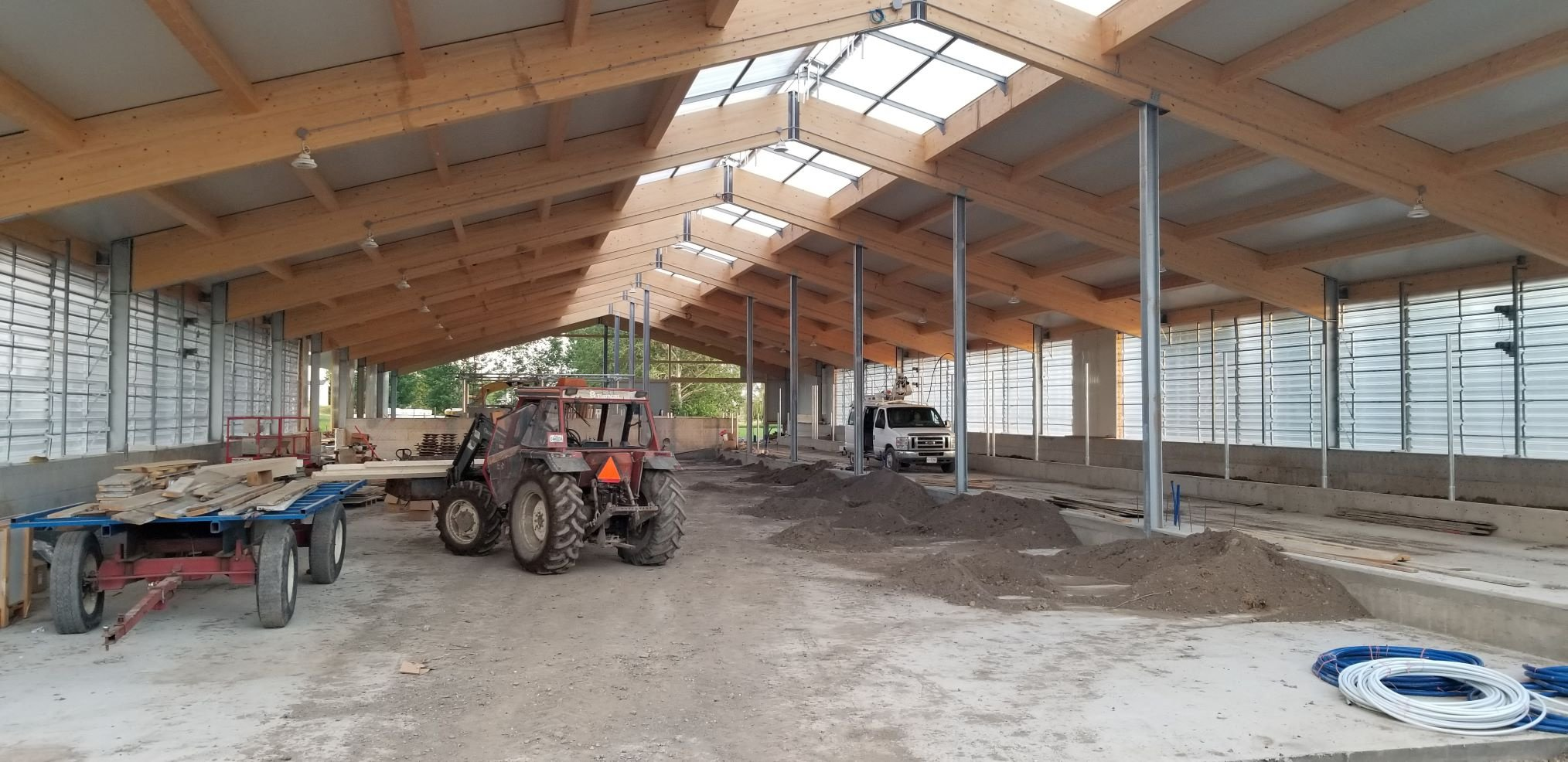 2019 Clarenceville, Quebec - Dairy barn