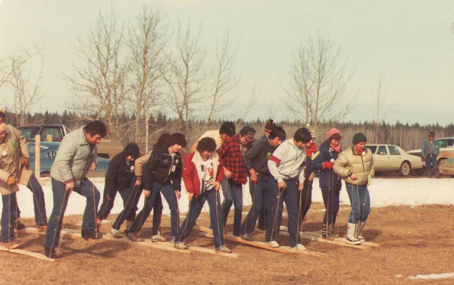"""""""Hew Chaw Days"""" (Winter Carnival) Competition 1983.  Photo Credit:"""