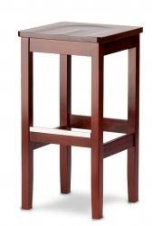 Backless Schoolhouse Barstool