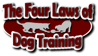 Click to go to the Four Laws of Dog Training page