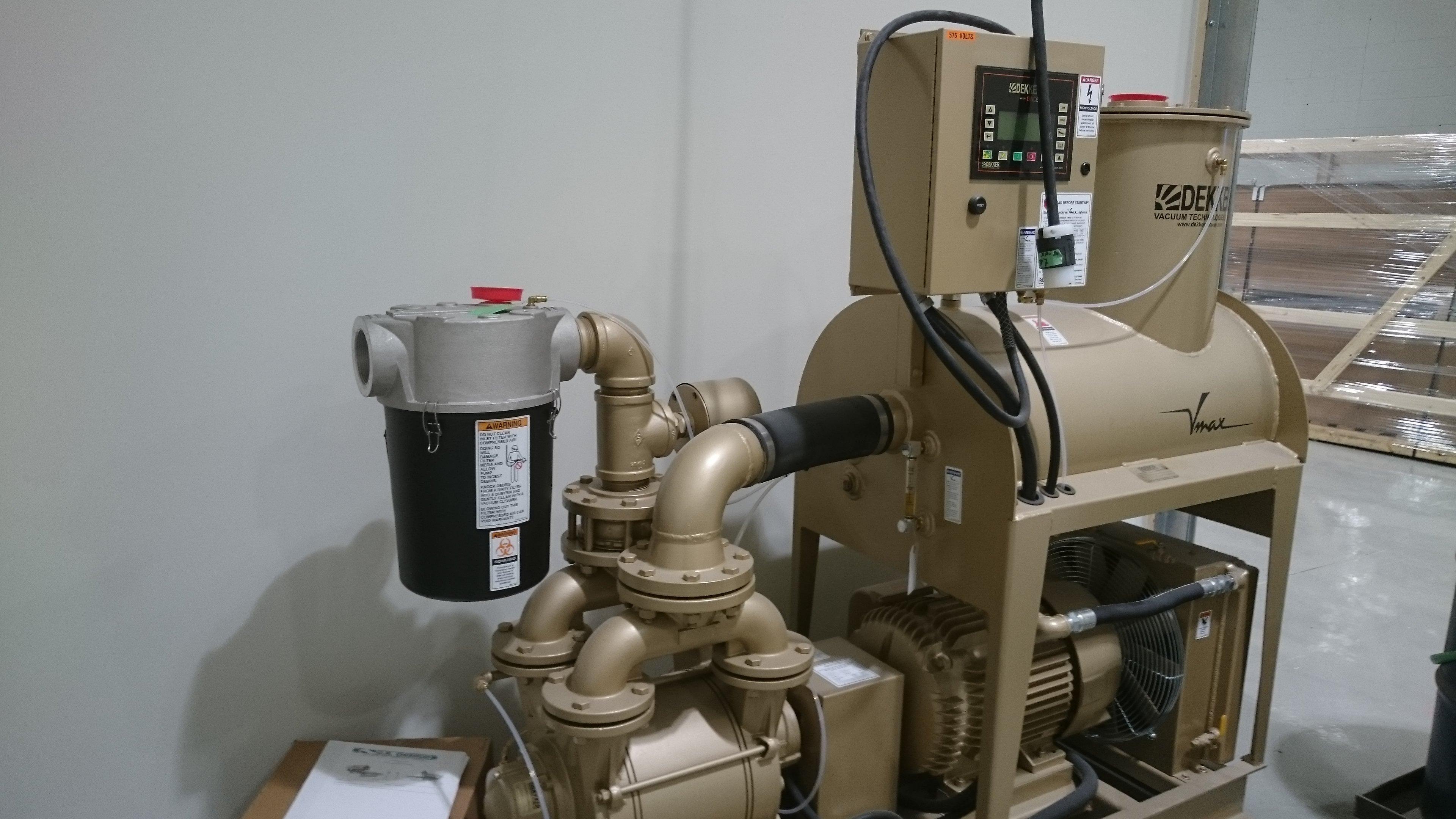 Dekker Vacuum Pump