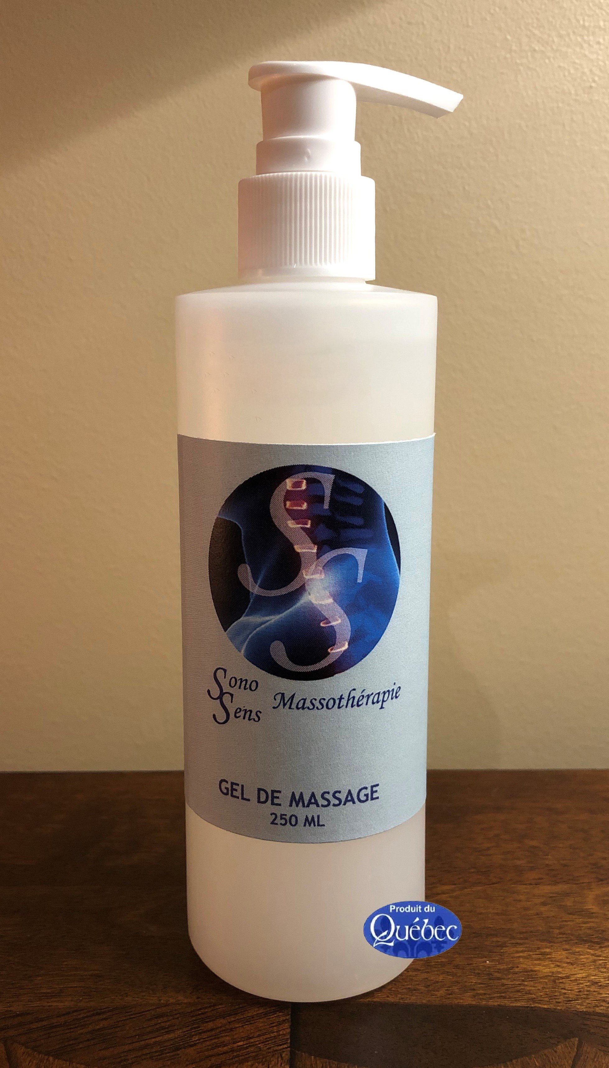 Gel de massage Ridha 250 ml Neutre 10.44$ plus taxes