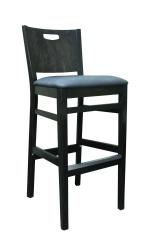 Handleback Barstool, upholstered