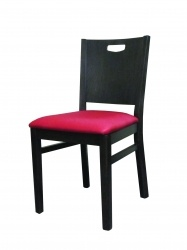 Handleback Side Chair, upholstered