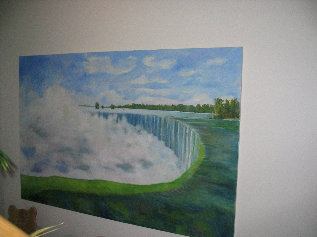stolen in the province of Quebec unfinished work of Niagara Falls