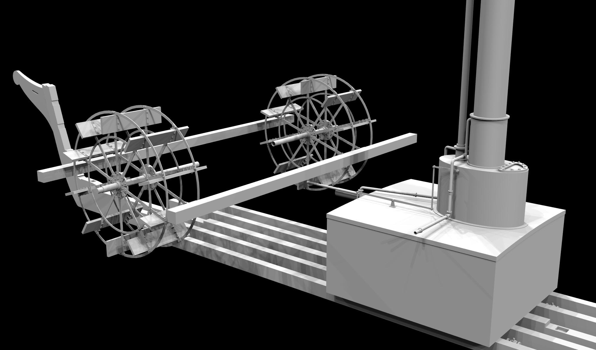 S.S. Beaver - Engine Room