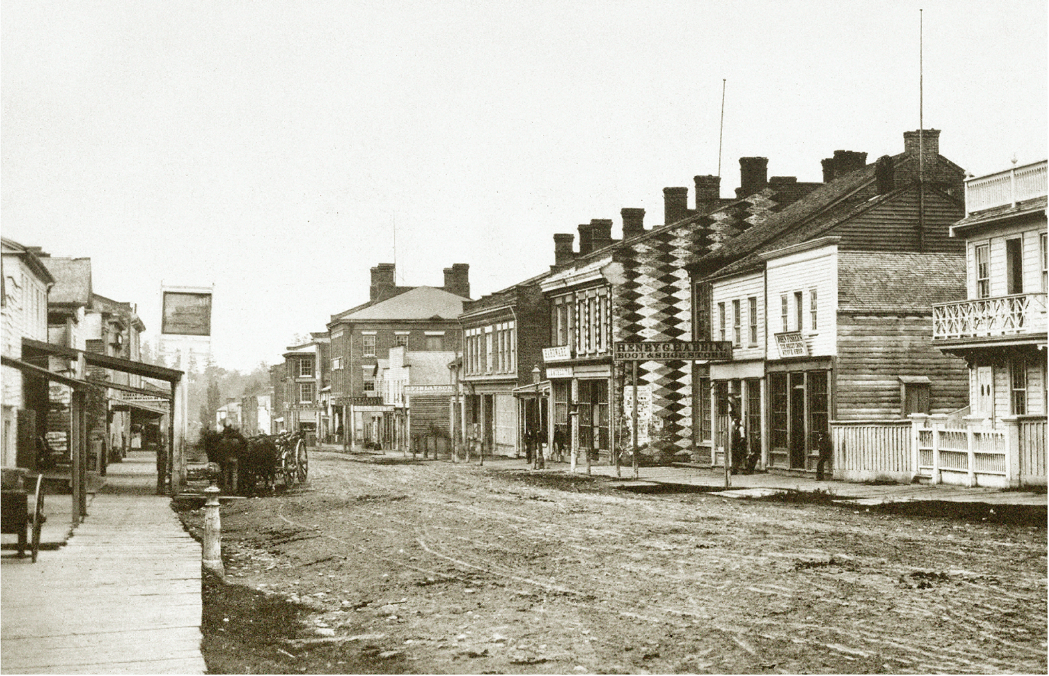 Earliest known Photograph of Dundas
