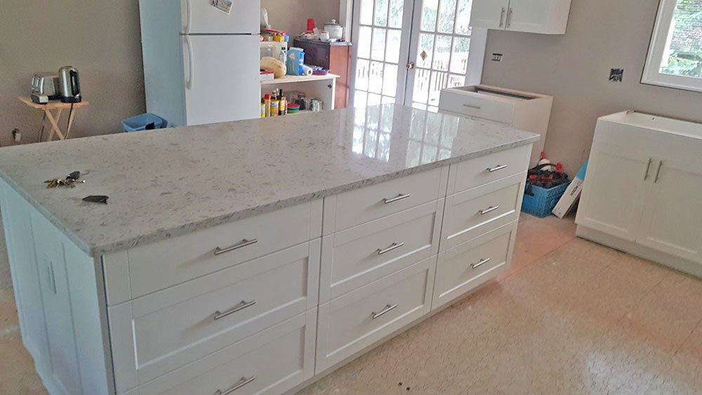 Remodeled Kitchen Countertop