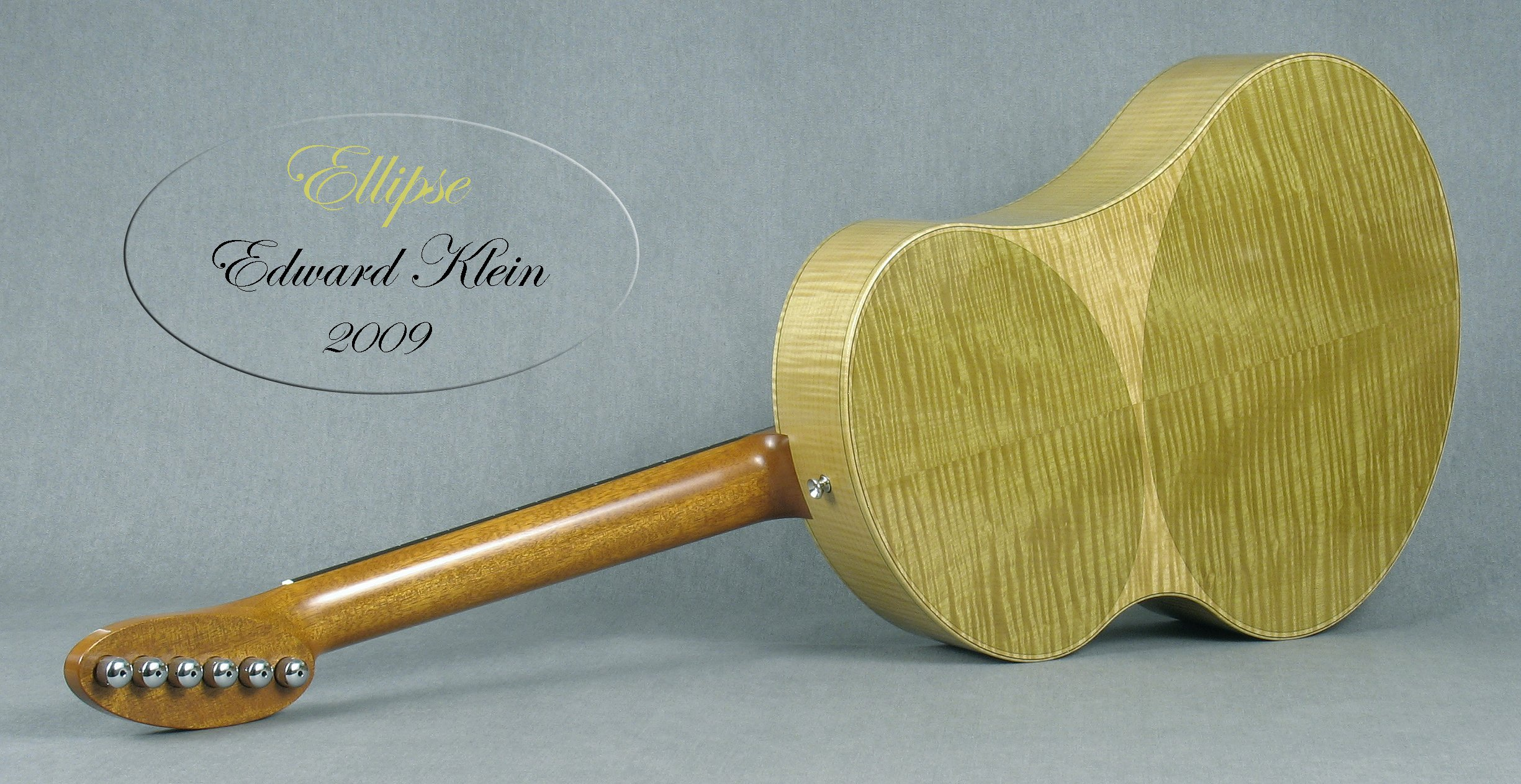 Original Ellipse concept guitar - refer to Ellipse N or Ellipse S as the current models available to order