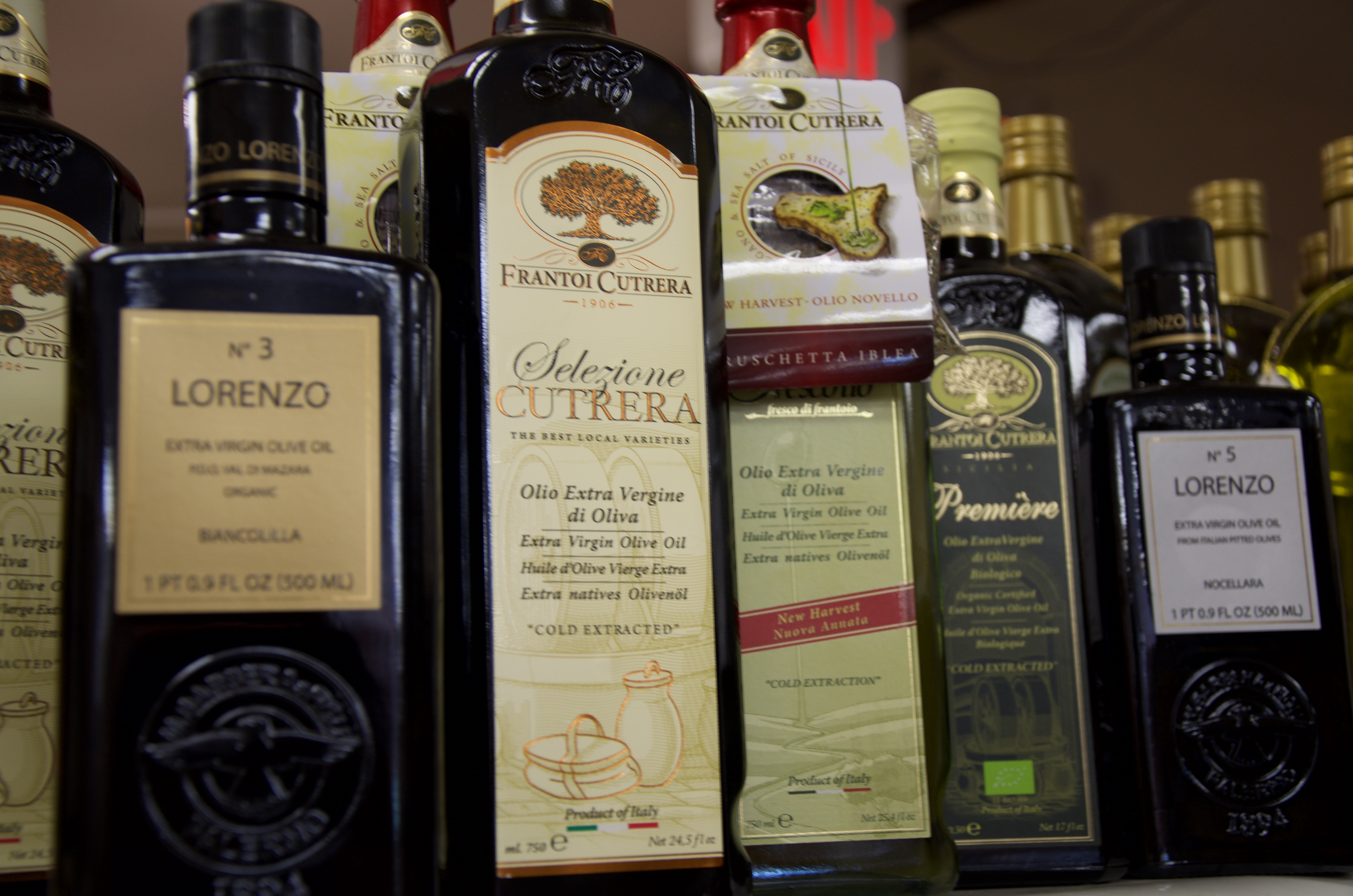 Premium Italian Olive Oils