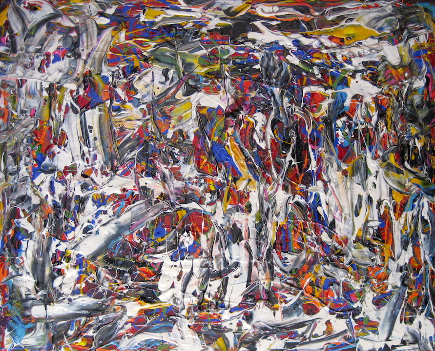 """Ross Bishop """"Do You See""""   2021  A/C  24""""x30"""""""