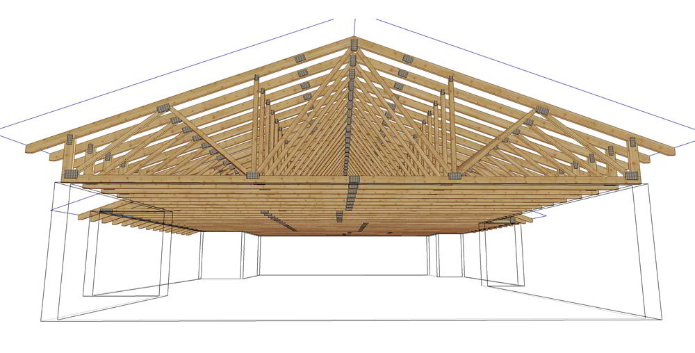 Davidson enman lumber ltd products for Order roof trusses online
