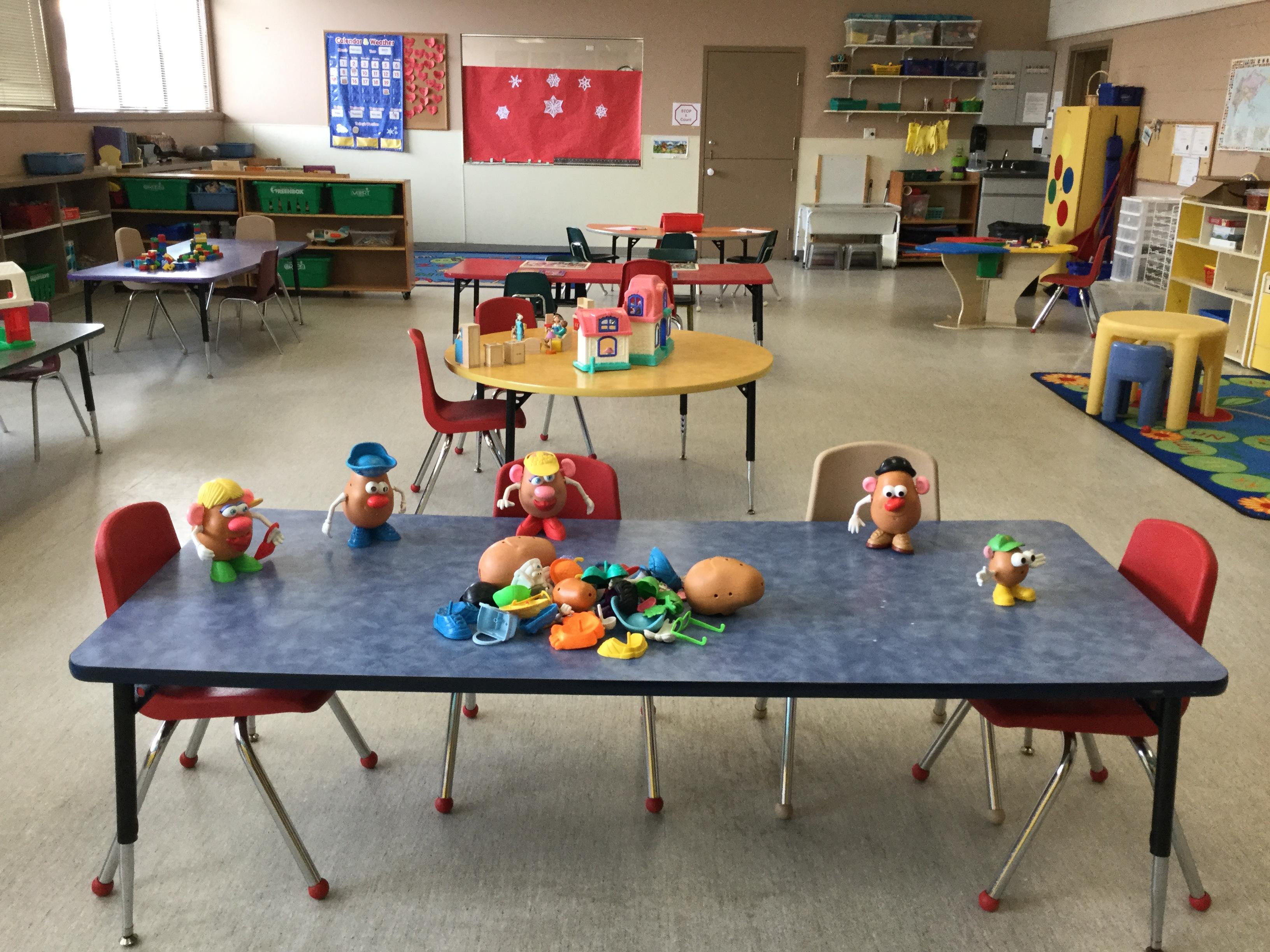 Yellow Room - Potato Head Fun