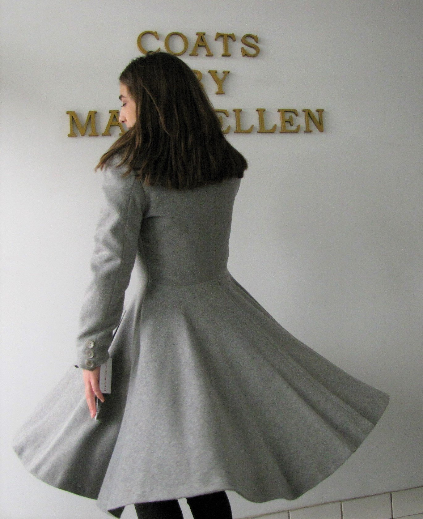 Style #10291-7  Smoke Grey  50% Cashmere/ Wool