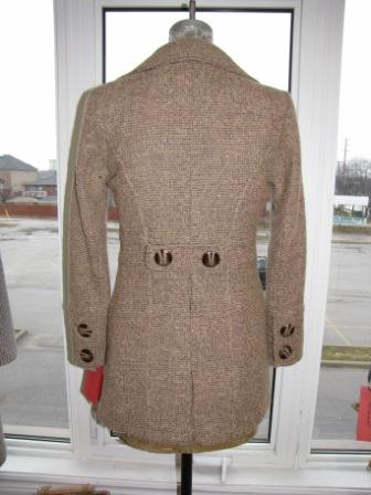 Style # 1201 Cream Tweed 100% Pure Virgin Wool