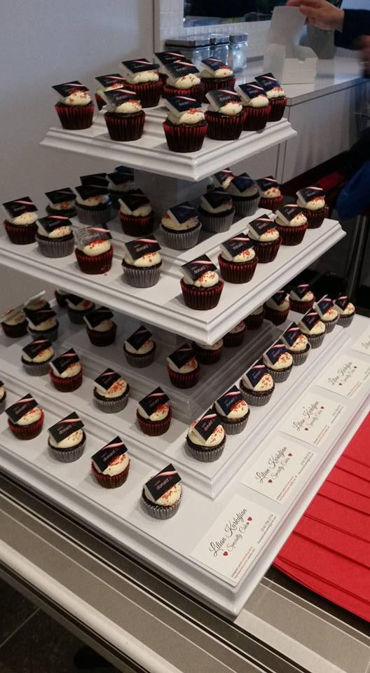 Salon Grand Opening Cupcakes