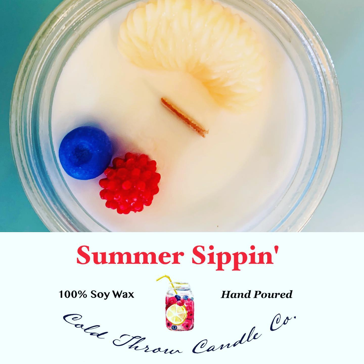 A hot summer day brings the need for a cold refreshing beverage best shared amongst friends. This scent is a combination of peach and sweet nectar with notes of apple blossom/vanilla bringing together the perfect summer beverage.