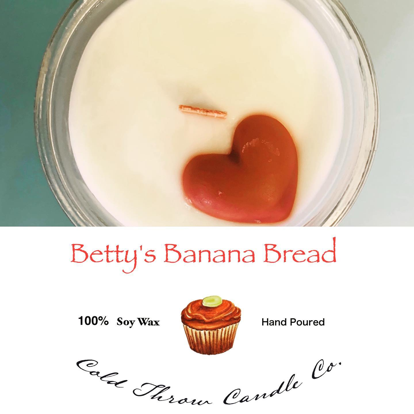 A warm right out of the oven scent and buttery banana hues!