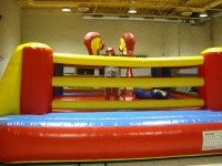 Bouncy Boxing  3 Hr. Rental $ 595.00 plus taxes $672.35 Total Extra Hr. $200.00 plus taxes