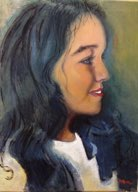 Queen Maureen  (Maureen George) oil