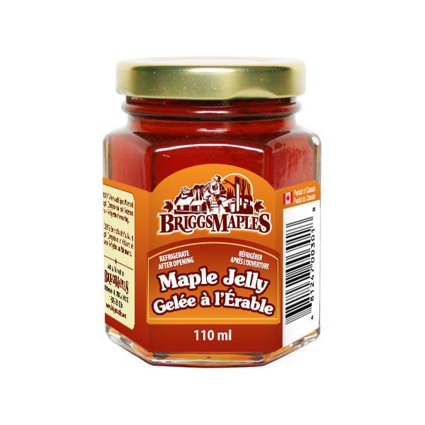 Maple Jelly - glass jar