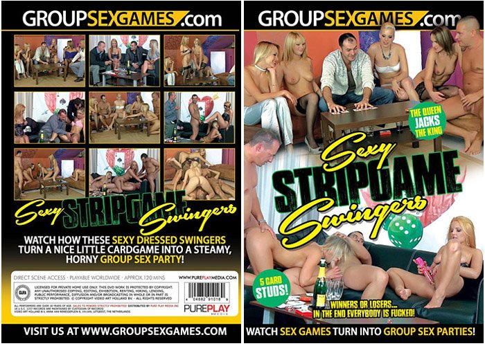 Ch 38:  Sexy Stripgame Swingers