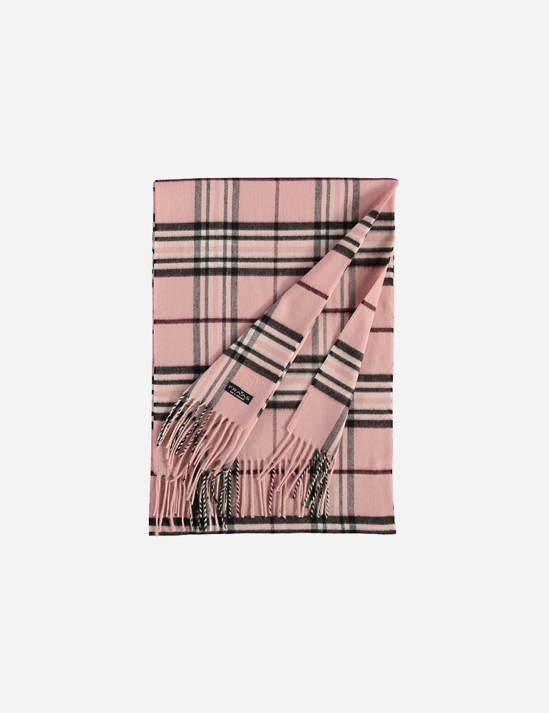 Pale Pink Plaid- $32.00 Polyacrylic, Made in Germany 4035419128973
