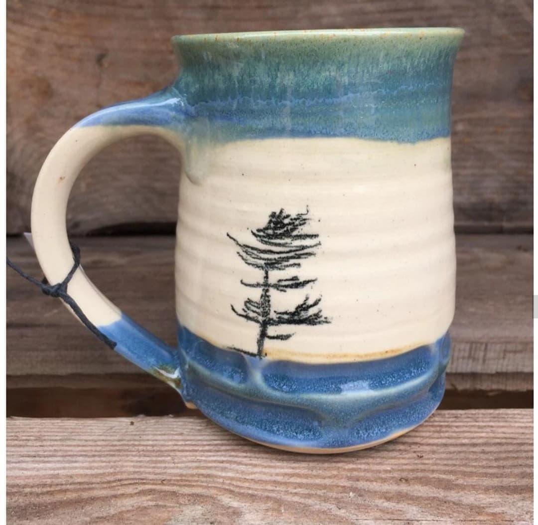 Fine Line Tree Mug $34 - $38
