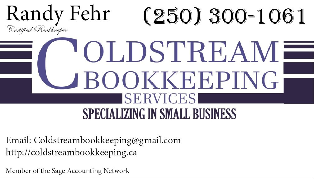 Coldstream Bookkeeping