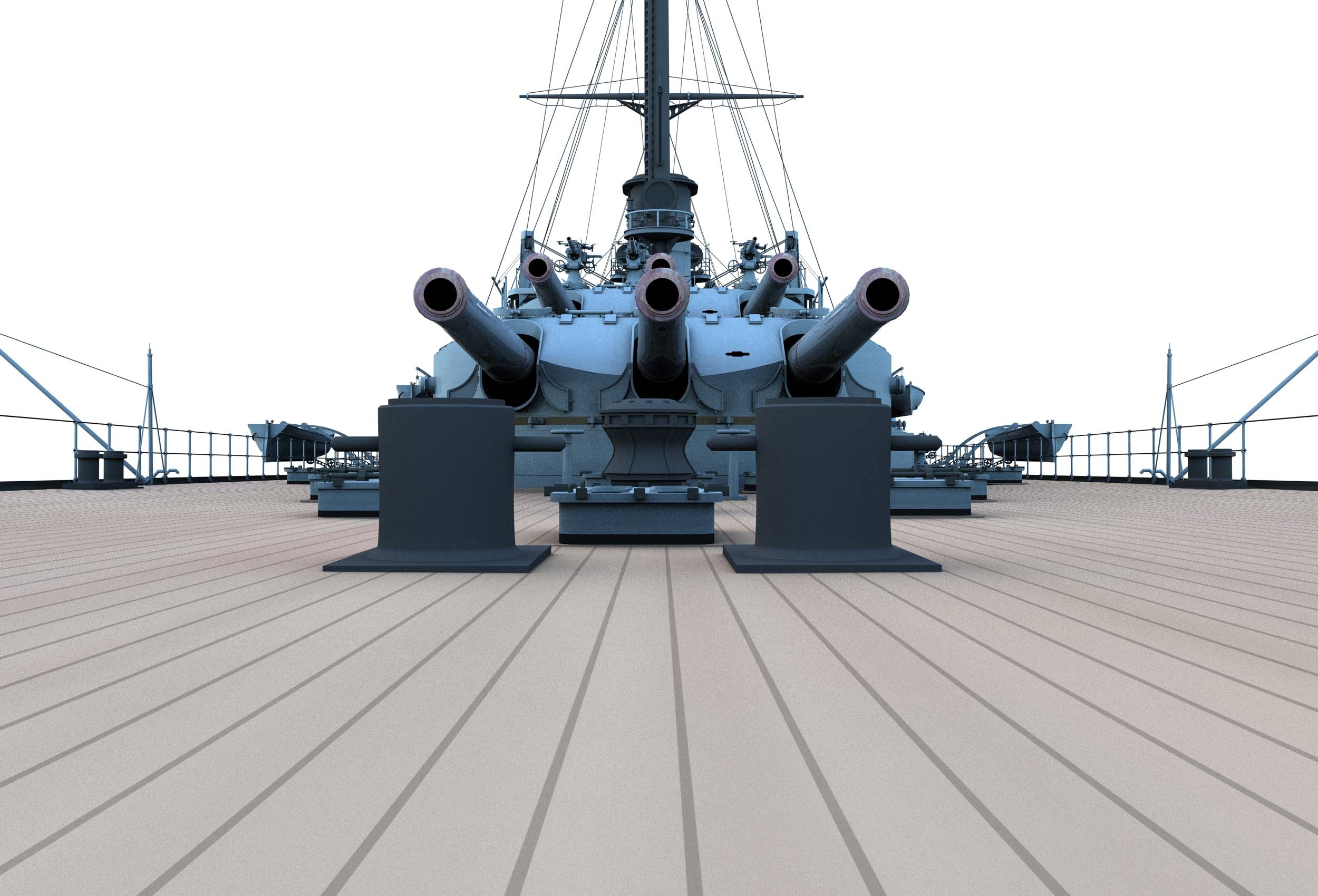 https://0901.nccdn.net/4_2/000/000/046/6ea/CK30-Parial-Ship-Stern-Deck-Level-Forward-Turrets-III-and-IV-2500x1700.jpg