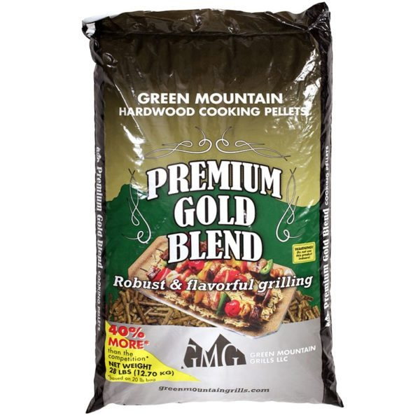 Premium Gold Blend - An all around flavor pellet