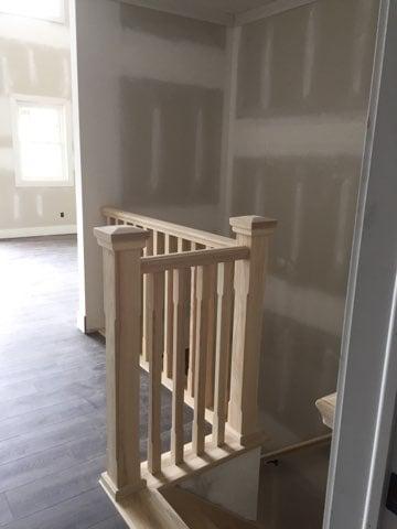 Winder ash stair