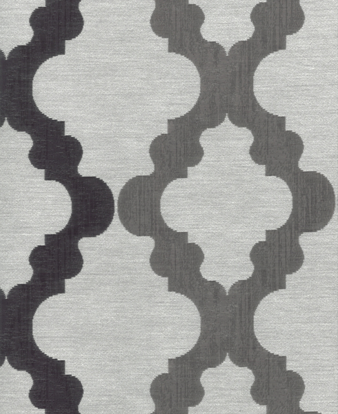 JACQUARD C55 Composition / Content: 100% Polyester rep. vert. 7 ½'' rep hor. 13 ¾''
