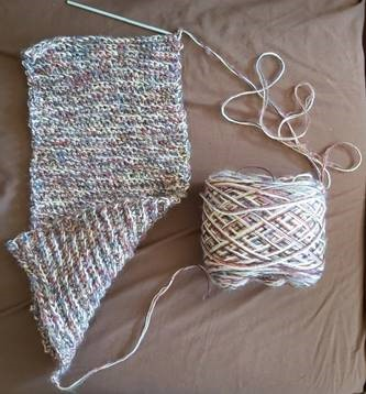 Sue - I am not a knitter or crocheter  but am trying to use up some yarn…
