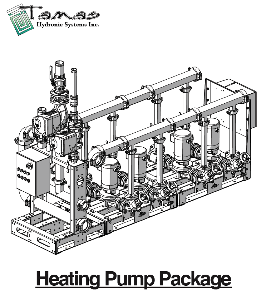 Tamas Custom VFD Boiler Pump Skid & Heating System Skid