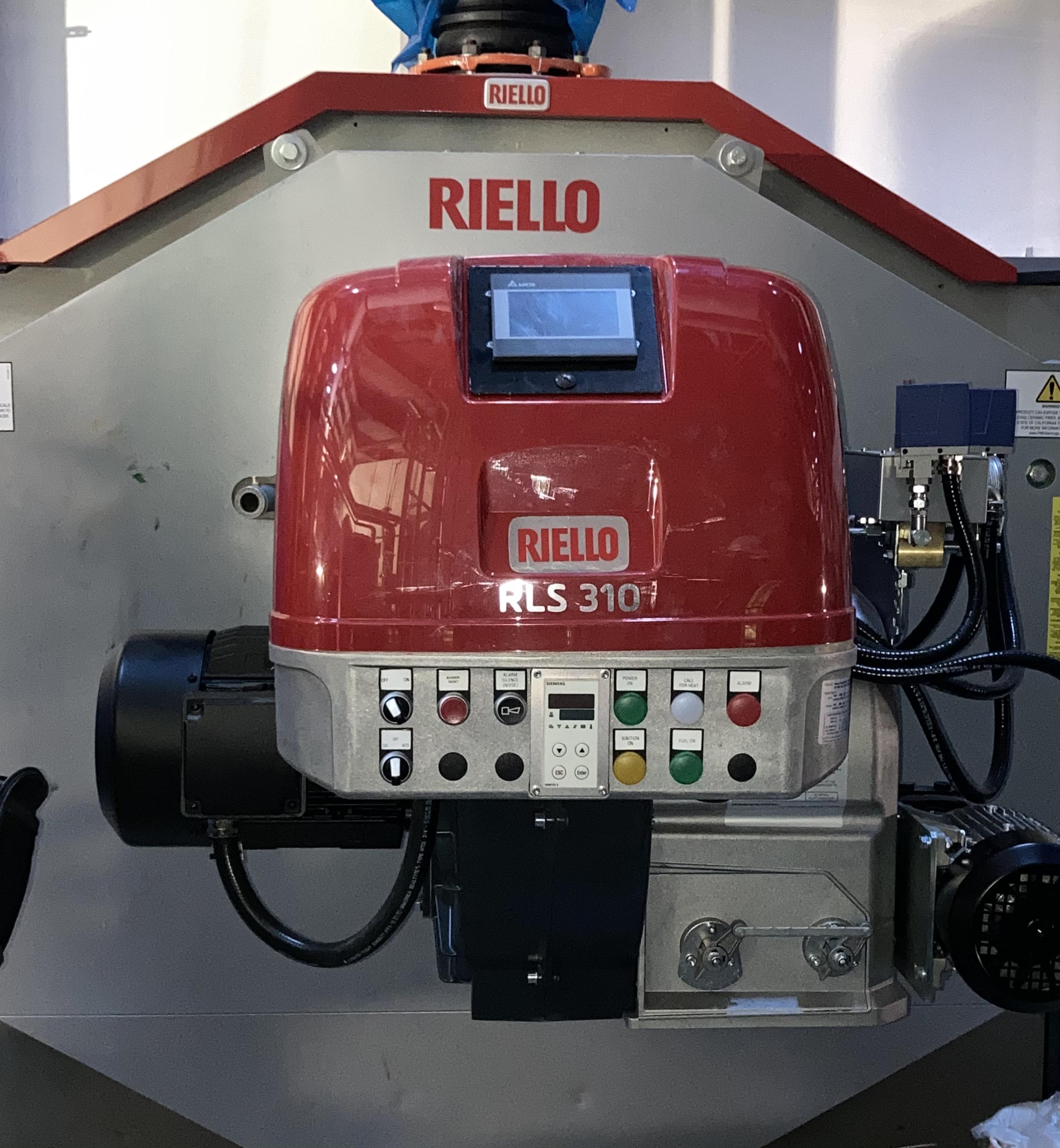 AHS-CCC Riello RTC-10000 & RLS-310-E Burner, 10,000,000Btu Input