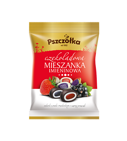 AP100CH Pszczolka chocolate covered candies - (individually wrapped) 100 gr