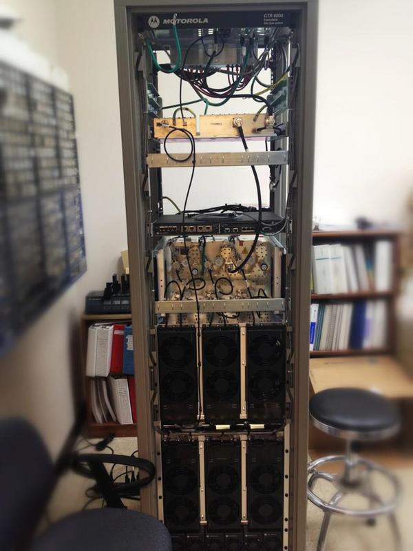 Motorola GTR-8000 Repeater Site