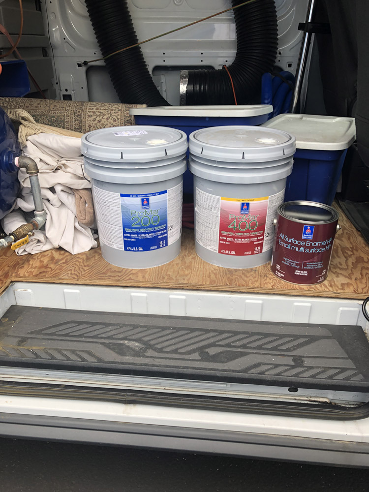 We generally pass on our discounts for paint to our customers