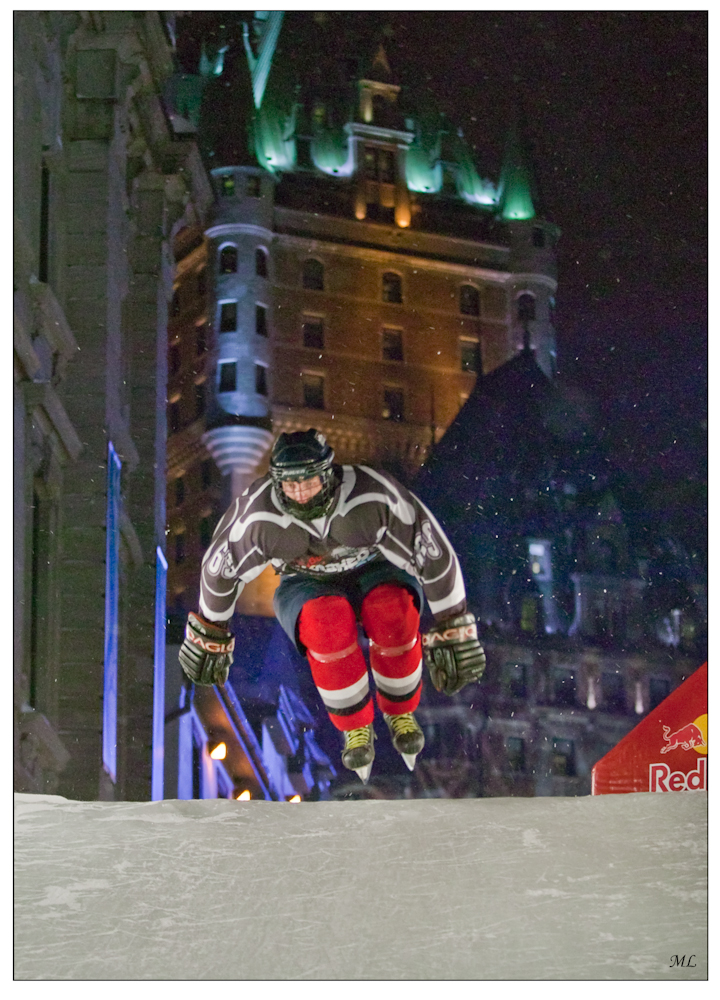 Red Bull Crashed Ice  Québec 2009
