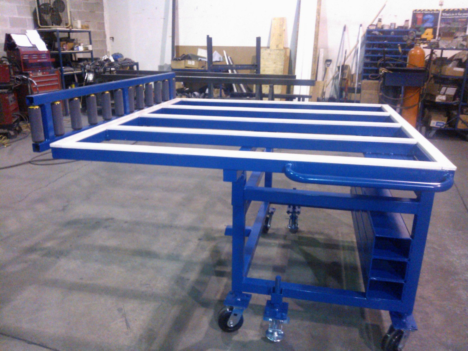 Tilt Transfer Work Table