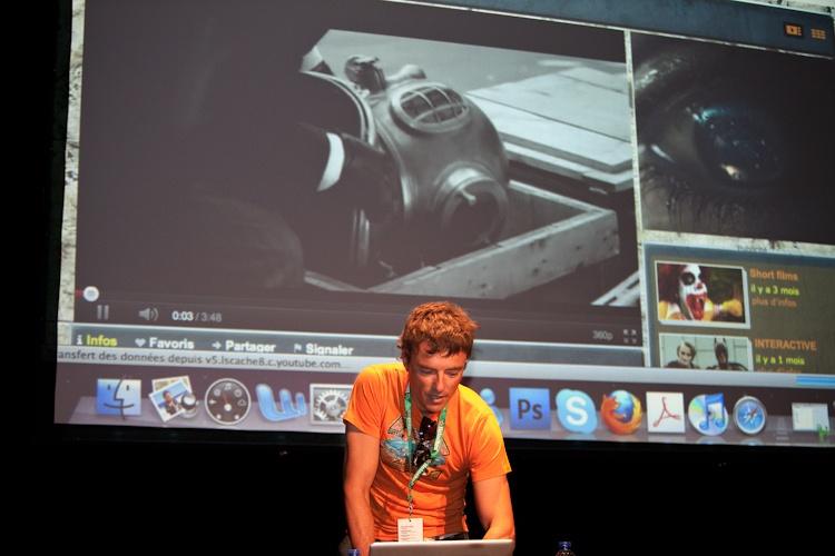 Conférence de Patrick  Boivin  7 août 2011 X3299